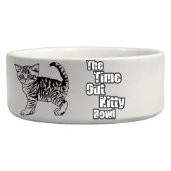 The Time Out Kitty Bowl