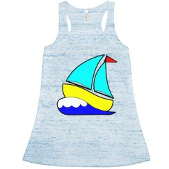 Fun Cartoon Sailboat