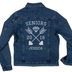 Custom Seniors Denim Jacket