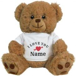 I Love You Romantic Gift Add Name