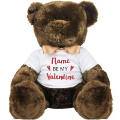Customize Your Own Valentine Bear