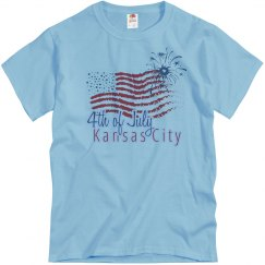 KC 4th of July - Blue