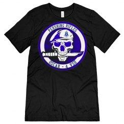 P/R - Beret Skull Knife O-4, Black