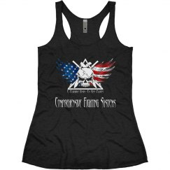 Women's Racer Back R, W, & B