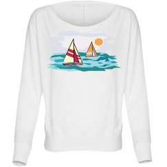Sailing Watercolor