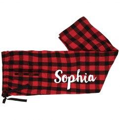 Sophia's Custom Jammies