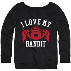 I LOVE MY BANDIT CHEERLEADER