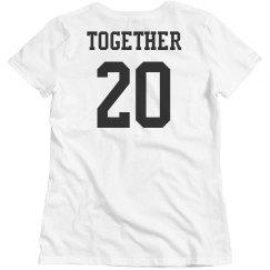 90a1d132 Matching Couple T-Shirts, Boyfriend Girlfriend Shirts, Couple Crewnecks