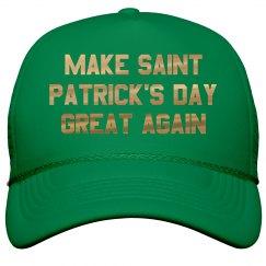 Green Make St. Pat's Great Again