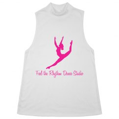 Ladies Mock Neck FTR Tank