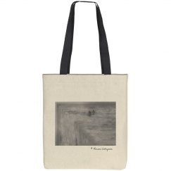 On the edge (tote bag)