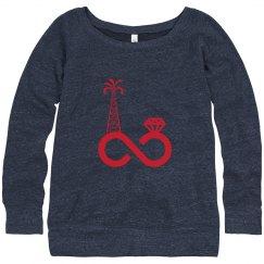 Oilfield Wife Slouch Sweatshirt