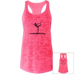 SUP yoga stand up for what you love burnout tank