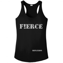Ladies Athletic Performance Distressed FIERCE Tank