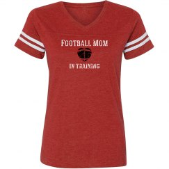 Football Mom in training