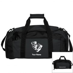 Black Customizable Duffle Bag
