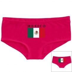 MEXICO BOOTY SHORTS