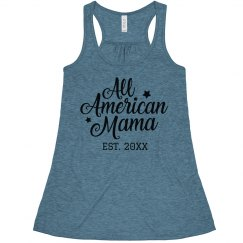 Personalized All American Mama USA