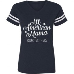 Personalized All American Mama