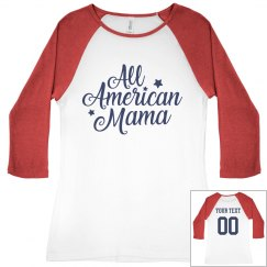 All American Mama Name/Number