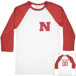 Custom Nebraska baseball Jersey