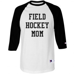 Field Hockey Mom Athletic Tee