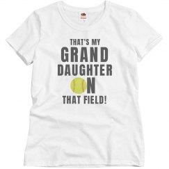 That's My Granddaughter Softball