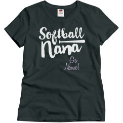 Softball Grandma Customizable Text