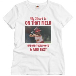 Custom Photo Softball Grandma