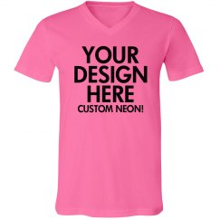Custom V-Neck Neons