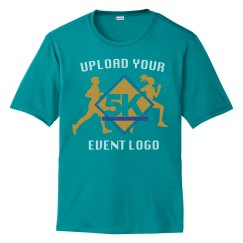 Event Logo Custom Upload Unisex Performance Tee