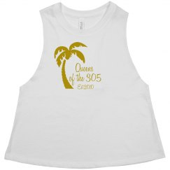 Queens of the 305 tank gold