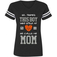 Mom's Basketball Jersey