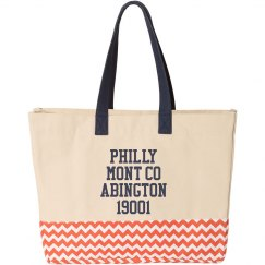 Conversation Beach Bag