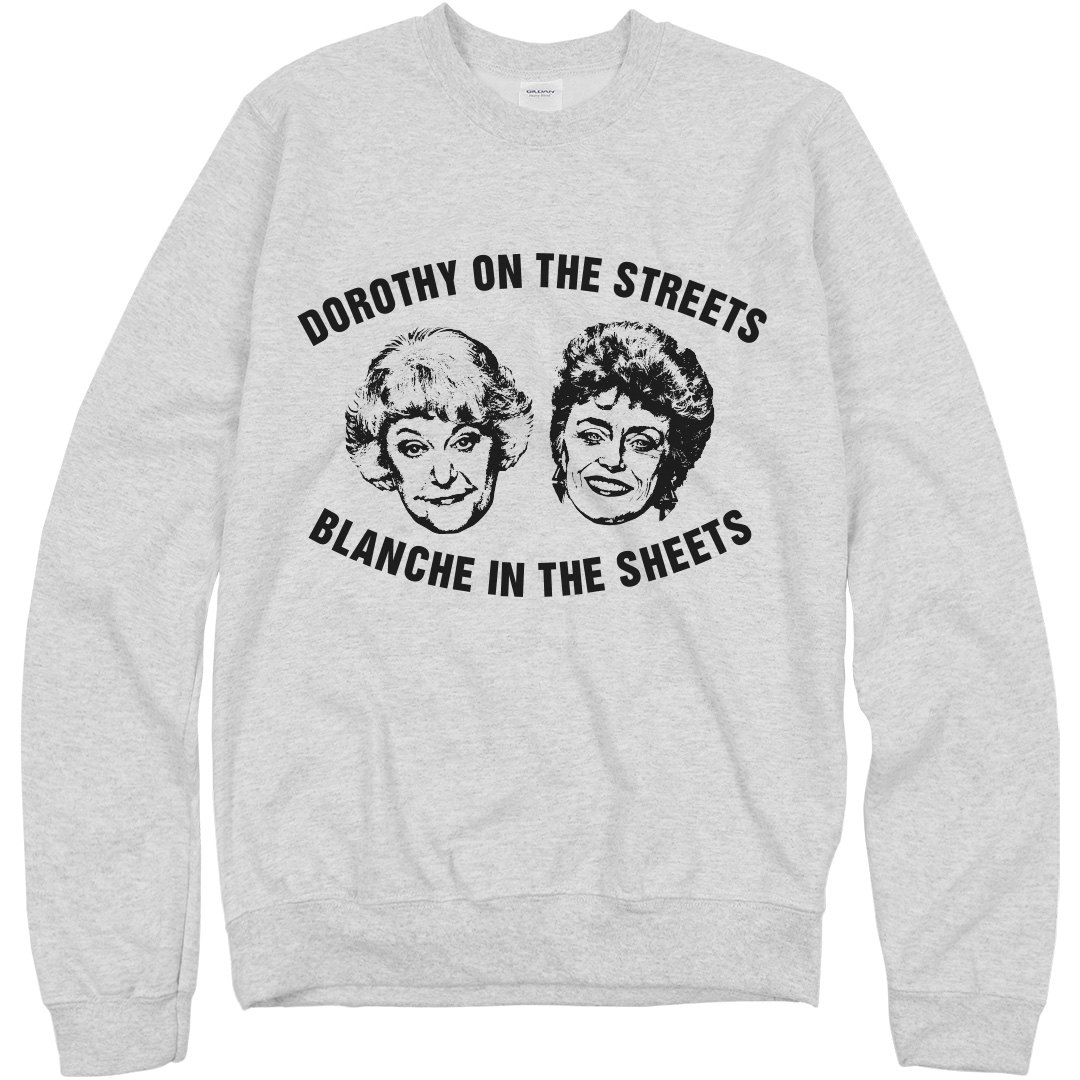 Blanche in the Streets Sweatshirt