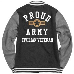 CIVILIAN VETERAN LETTERS JACKET