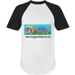 Doggieville Ranch Ringer Tee