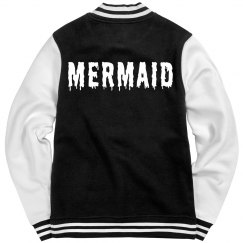 Mermaid Varsity Girl