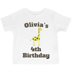 Olivia's 4th birthday