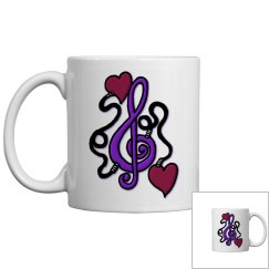 Plugged In To Music Mug
