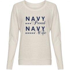 Navy Wife Navy Proud