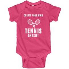 Create Your Own Tennis Onesie