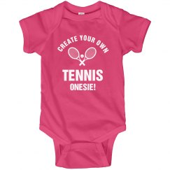 Create Your Own Tennis Onesie