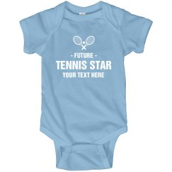 Personalized Future Tennis Baby