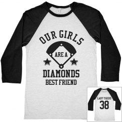 Softball Diamonds BFF