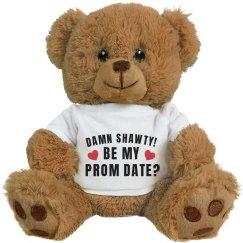 Funny Slang Prom Bears Promposal