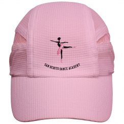 Jogger hat dancer logo