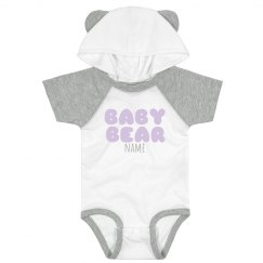 Little Baby Bear Custom Name