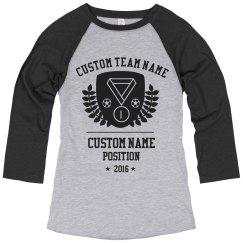 Custom Soccer Medal Shirt
