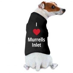 I Love Murrells Inlet Dog Tank
